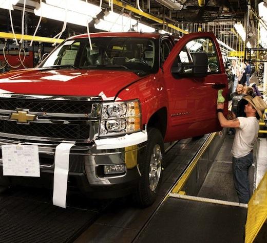 General Motors invertirá 1,000 millones en fábricas en EEUU