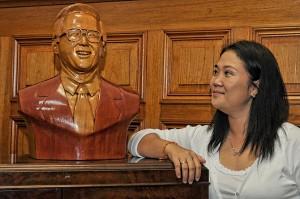 Keiko Fujimori plantea un plan económico
