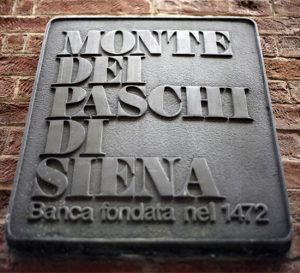 Banca Monte dei Paschi di Siena pone en riesgo el sistema financiero italiano