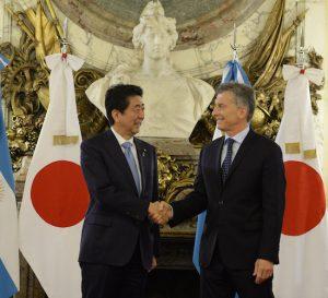 Japón y Argentina sellan una alianza estratégica en materia económica y comercial