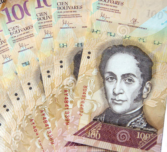 El declive del gasto público en Venezuela es mucho más pronunciado