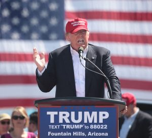 Acciones caen luego de manifestación pro Trump