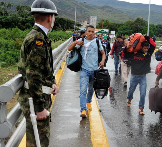 Colombia busca ayuda para atender migración de venezolanos