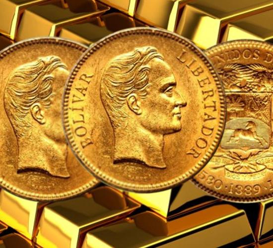 Cambios en las reservas de oro de Venezuela