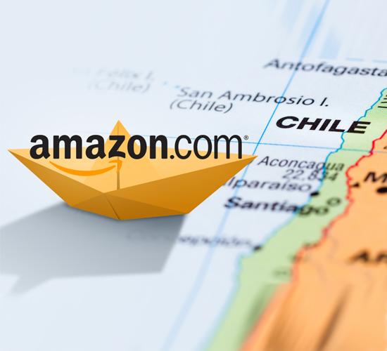 Amazon llegará a Chile y busca expandirse en Suramérica