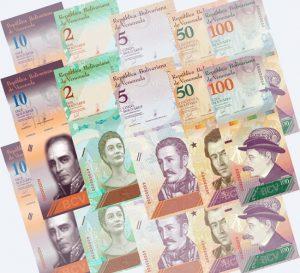 Entra en vigencia reconversion monetaria y cono monetario en Venezuela