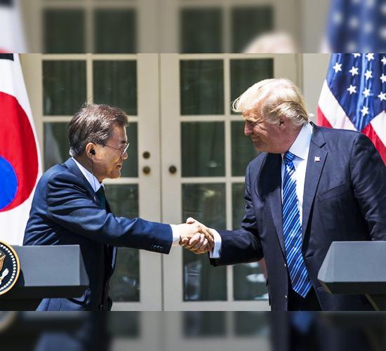 Corea del Sur y Estados Unidos firman un nuevo tratado comercial