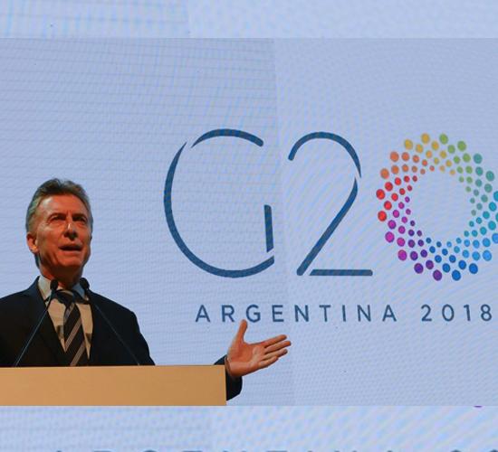 En medio de crisis económica argentina recibe cumbre del G20
