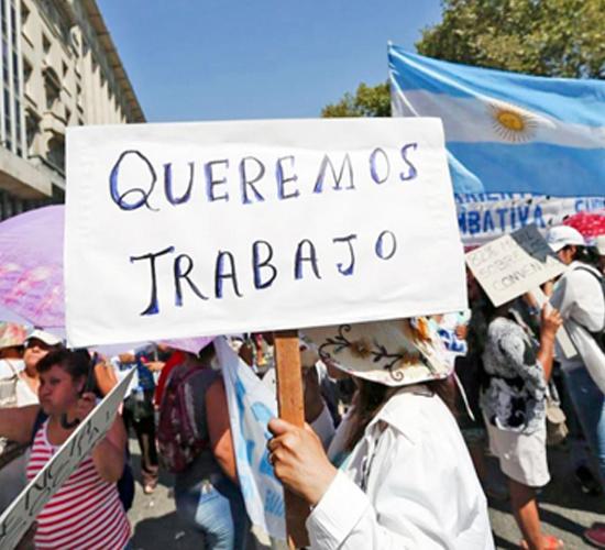 Sindicatos en Argentina en contra del aumento de tarifas