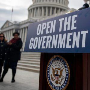 Cierre parcial del gobierno de EE.UU Restó $11.000 millones al PIB