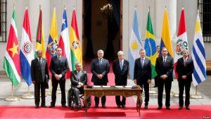 Prosur, el nuevo bloque regional donde Venezuela no está incluída